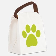 dog paw 13  Canvas Lunch Bag