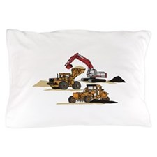 3 PC. HEAVY EQUIPMENT Pillow Case