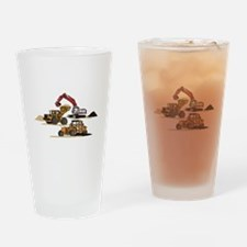 3 PC. HEAVY EQUIPMENT Drinking Glass