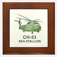 CH-53 SEA STALLION Framed Tile