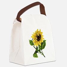 sunflower 01 Canvas Lunch Bag