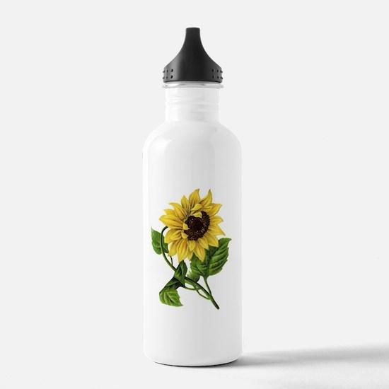 sunflower 01 Water Bottle