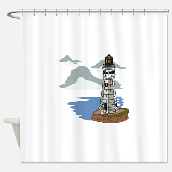 LIGHTHOUSE #5 Shower Curtain