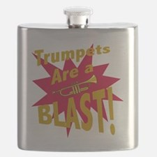 Trumpets are a BLAST! Flask