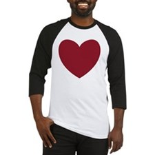 MAROON Heart 13 Baseball Jersey