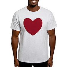 MAROON Heart 13 T-Shirt