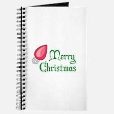 CHRISTMAS LIGHT BULB Journal