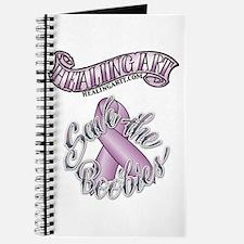 Healing Art Ribbon...Save the Boobies Journal