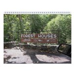 Forest Houses Tribute - Wall Calendar