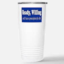 PRESCRIPTION FOR ABLE Travel Mug