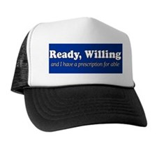 PRESCRIPTION FOR ABLE Trucker Hat