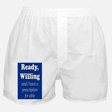 PRESCRIPTION FOR ABLE Boxer Shorts