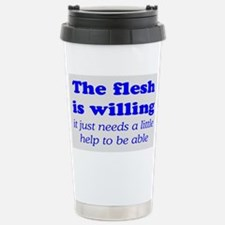 FLESH IS WILLING Stainless Steel Travel Mug