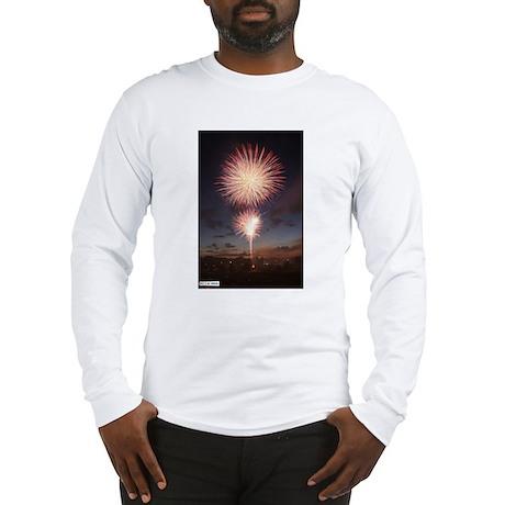 July 4 Fireworks Long Sleeve T-Shirt