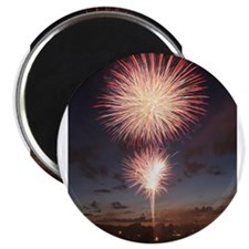"July 4 Fireworks 2.25"" Magnet (10 pack)"