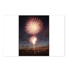 July 4 Fireworks  Postcards (Package of 8)