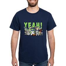 KiniArt Twelve Dogs T-Shirt