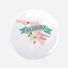 "Florida Sunshine State 3.5"" Button"