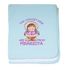 THE COOLEST KIDS baby blanket