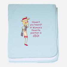HAVENT YOU HEARD baby blanket