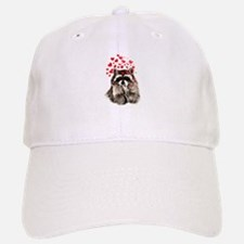 Raccoon Blowing Kisses Cute Animal Love Hat