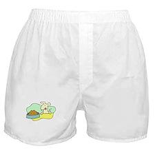 Dog And Food Boxer Shorts
