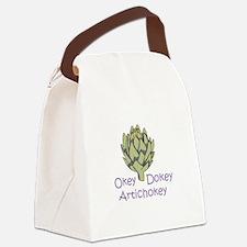 OKEY DOKEY ARTICHOKEY Canvas Lunch Bag