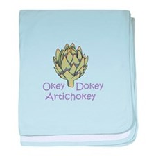 OKEY DOKEY ARTICHOKEY baby blanket
