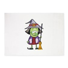 HALLOWEEN WITCH 5'x7'Area Rug