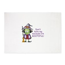 BOOTIFUL WITCH 5'x7'Area Rug