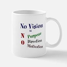 No Vision Mugs