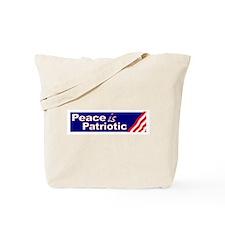 Peace is Patriotic Tote Bag