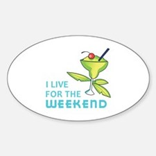 The Weekend Decal