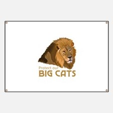 PROTECT OUR BIG CATS Banner