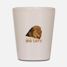 PROTECT OUR BIG CATS Shot Glass