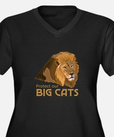 PROTECT OUR BIG CATS Plus Size T-Shirt