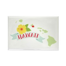 Hawaii Flower Hibiscus Magnets