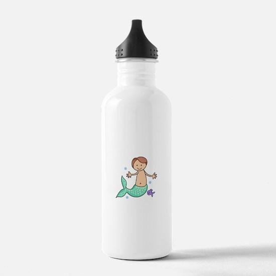 MERBOY MERMAN Water Bottle