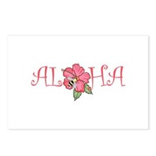 ALOHA HIBISCUS Postcards (Package of 8)
