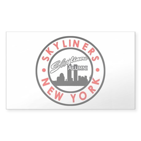 Sky Alumni Logo Window Sticker