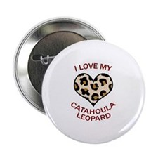 """LOVE MY CATAHOULA LEOPARD 2.25"""" Button (10 pack)"""
