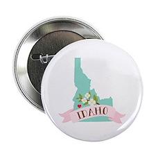 "Idaho Flower Syringa 2.25"" Button (10 pack)"