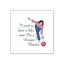 LEAGUE BOWLER Sticker