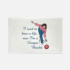 LEAGUE BOWLER Magnets
