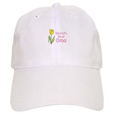 WORLDS BEST OMA Baseball Baseball Cap