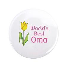 """WORLDS BEST OMA 3.5"""" Button"""