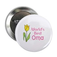 """WORLDS BEST OMA 2.25"""" Button (10 pack)"""
