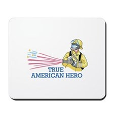 TRUE AMERICAN HERO Mousepad
