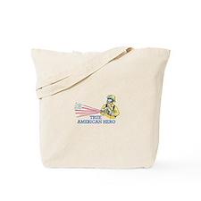 TRUE AMERICAN HERO Tote Bag