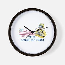 TRUE AMERICAN HERO Wall Clock
